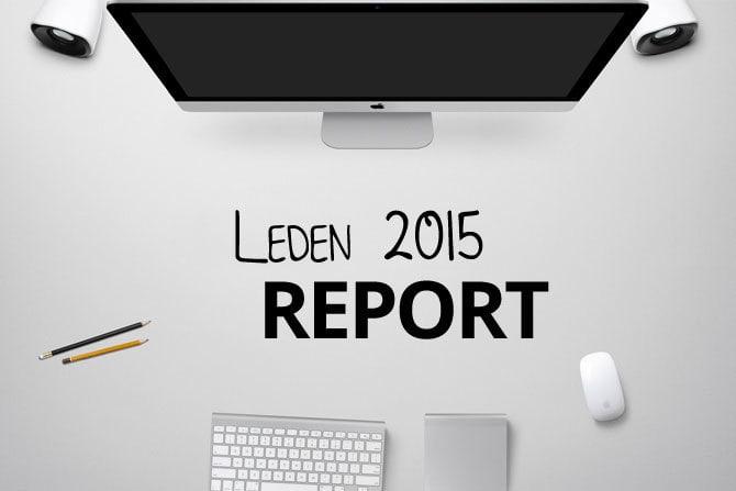 Leden 2015: report pracovních a osobních aktivit obrázek