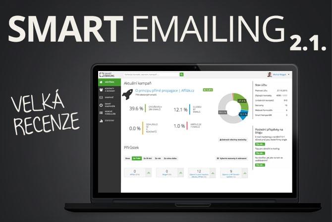 Velká recenze Smart Emailing 2.1. obrázek