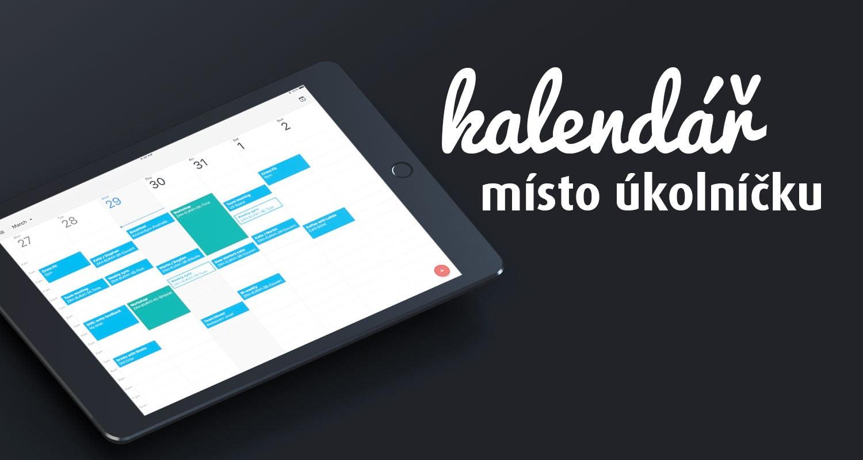 Vyhodnocení měsíčního experimentu: kalendář místo úkolníčku obrázek