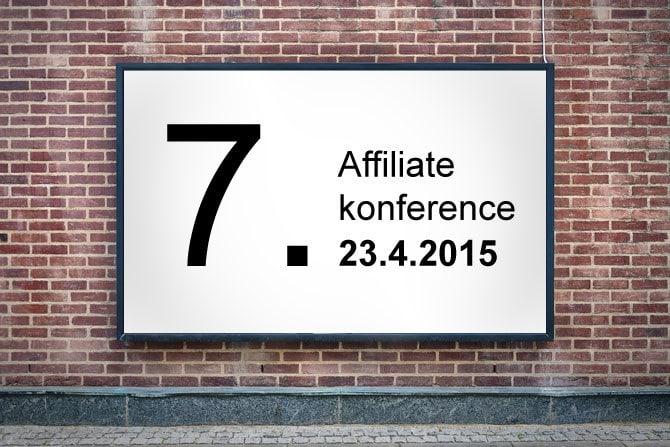 Pozvánka na 7. Affiliate konferenci – 23. 4. 2015 obrázek