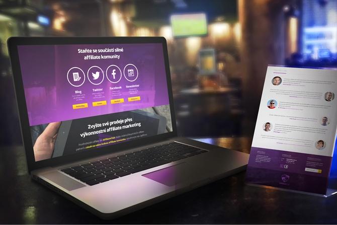 Náhledový obrázek článku AffilClub v novém designu představuje AffiliateClub Academy