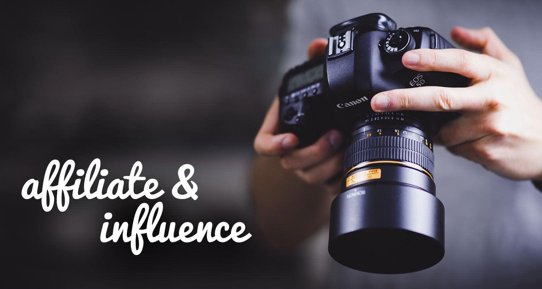 Svět influence a affiliate marketingu se sloučí obrázek