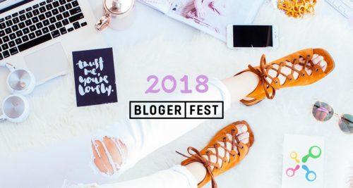 Blogerfest 2018 – první festival (nejen) pro blogery obrázek