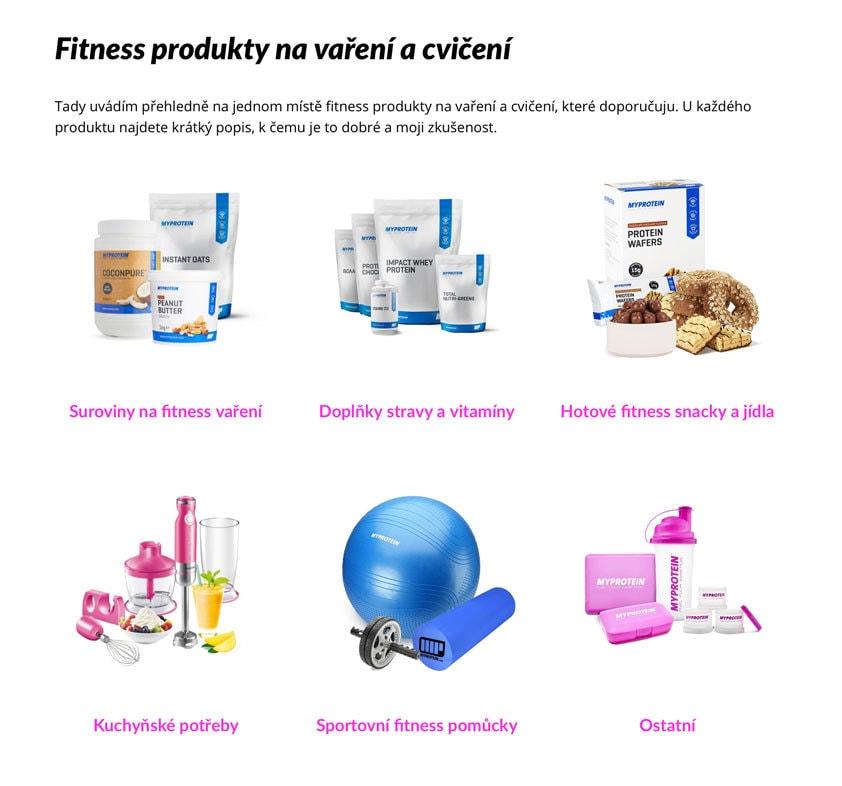 Fitness eshop