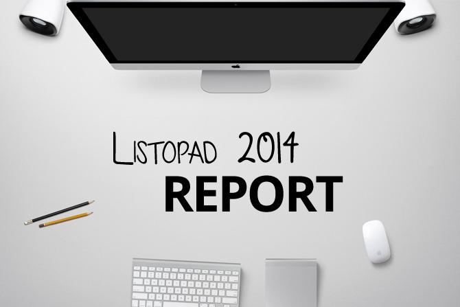 Náhledový obrázek článku Listopad 2014: report pracovních a osobních aktivit