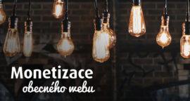 Monetizace obecného webu