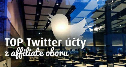 TOP 10 Twitter účtů z affil oboru (teď už 28) obrázek